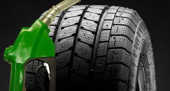 What proportion of fuel consumption is attributable to the tires?