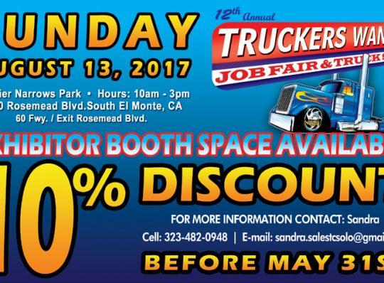 TRUCKERS WANTED JOB FAIR & TRUCK SHOW 2017
