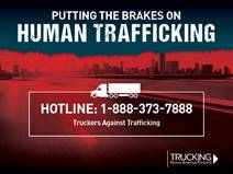 Putting the brakes on Human Trafficking