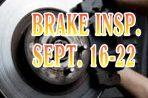 Brake Safety Week is Sept. 16-22