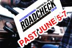 Road Check Last June  5-7