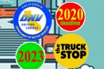 2019-2023 Timeline Semi Truck Engine Requirements and Seminars