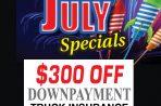 July Truck Insurance Specials