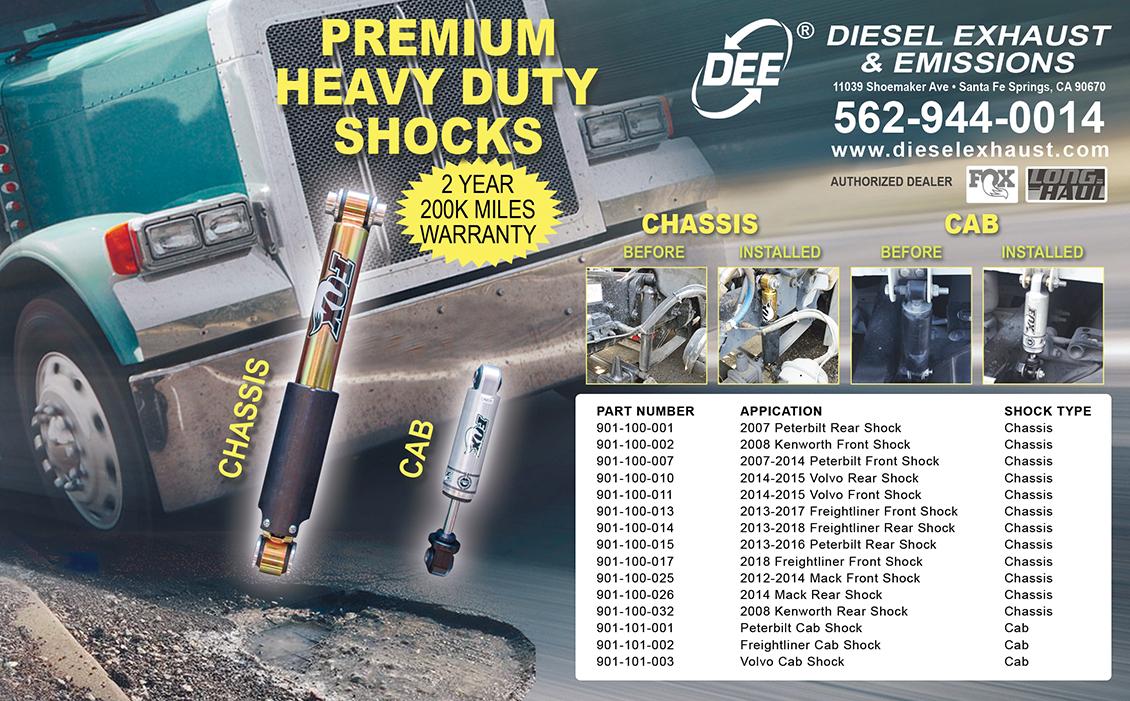 Truck Shocks - Amortiguadores para Camion