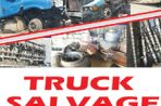 Truck Salvage Parts Sale