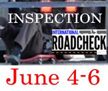 Road Check 2019 – JUNE 4-6