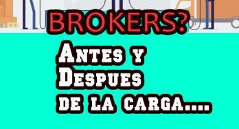 Sabes que piden algunos Brokers antes de  recibir y después de entregar una carga?