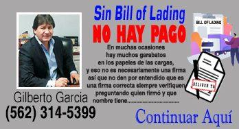 No te firmaron el Bill of Lading de la carga que  entregaste, y no te quieren pagar por ese detalle?